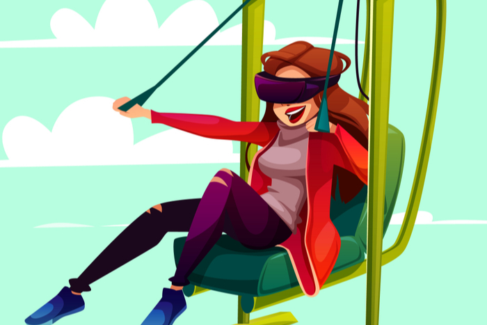 VR therapy for Aviophobia